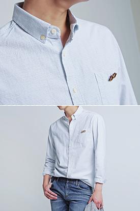 글래시즈 스트라이프 셔츠